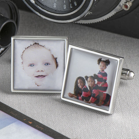Personalised Child's Photo Cufflinks