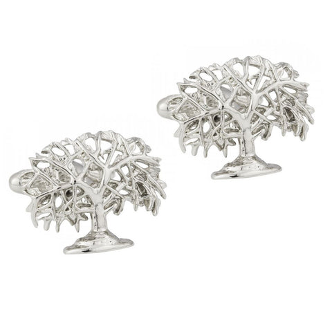 Oak Tree Cufflinks