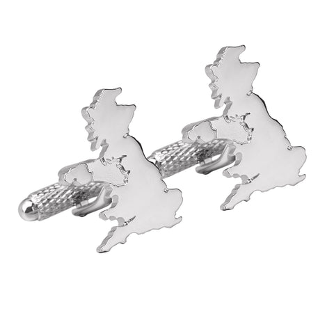 Great Britain Map Cufflinks