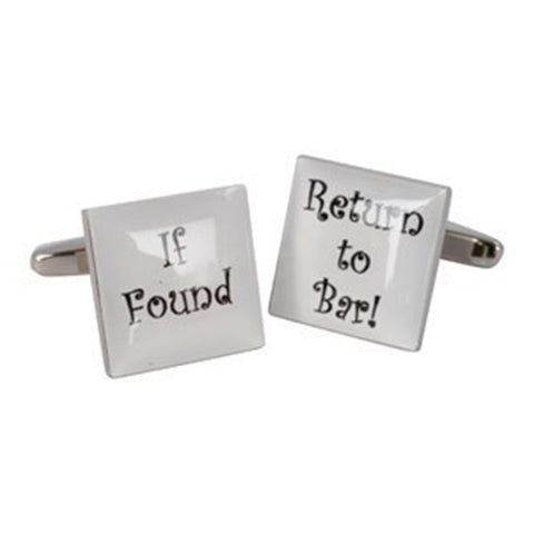 Return To Bar Cufflinks