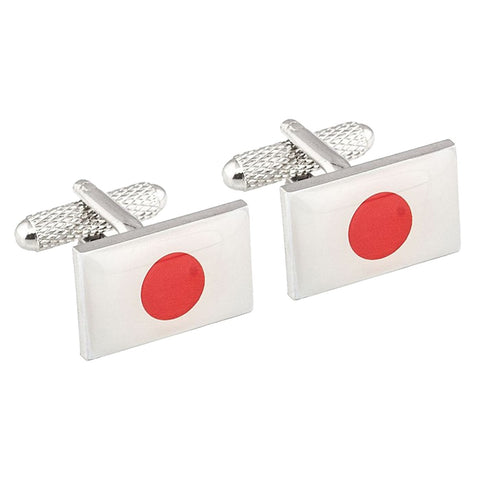 Japanese Flag Cufflinks