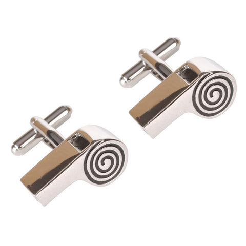 Real Working Whistle Cufflinks