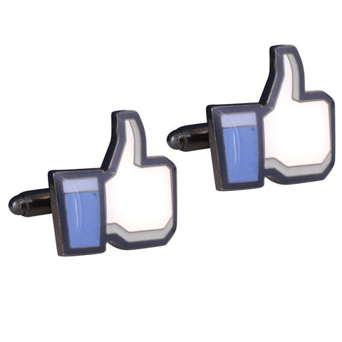 Facebook 'like us' Cufflinks