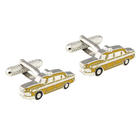 Yellow Cab Cufflinks