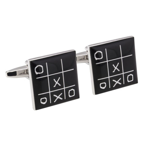 Noughts & Crosses Cufflinks