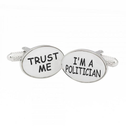 Trust Me I'm A Politician Cufflinks