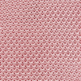 Pastel Pink Knitted Square Cut Silk Tie