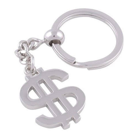 Dollar Sign Keyring