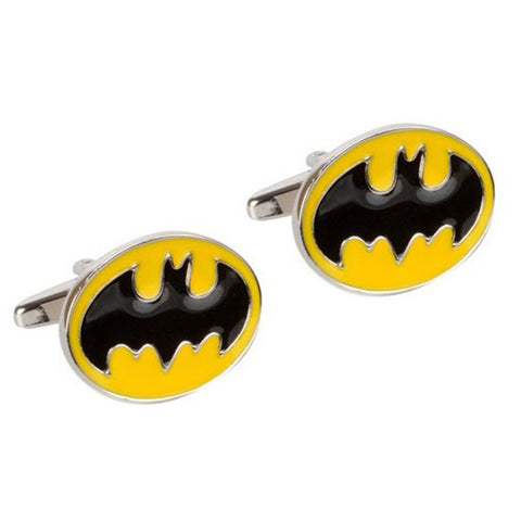 Enamel Batman Cufflinks