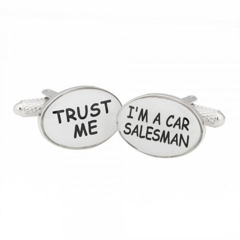 Trust Me I'm A Car Saleman Cufflinks