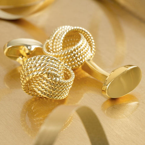 Executive Gold Knot Cufflinks