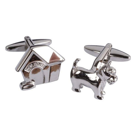 Dog & Dog house Cufflinks