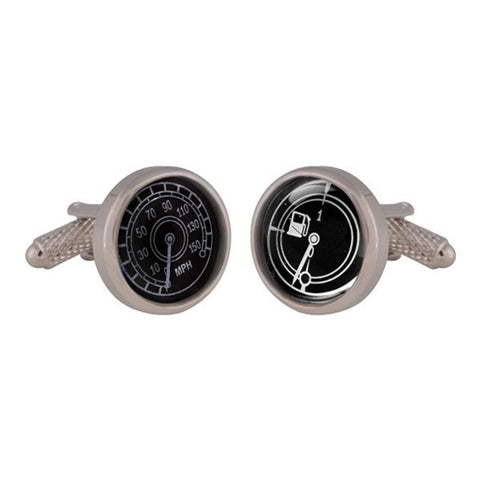 Speedometer and Temperature Gauge Cufflinks