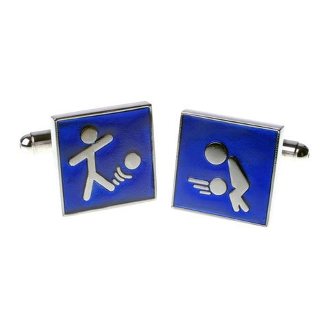 Comedy Football Cufflinks