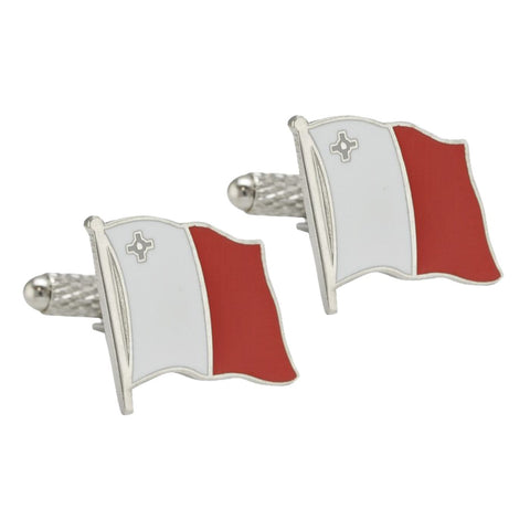 Maltese Flag Cufflinks