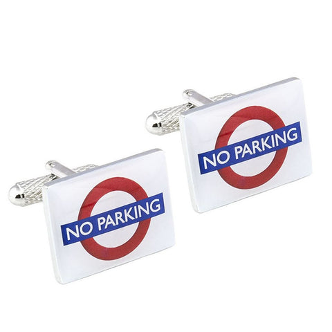 No Parking Cufflinks