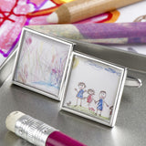 Personalised Childs Drawing Cufflinks