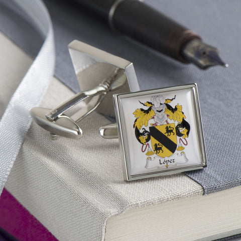 Personalised Family Crest Cufflinks