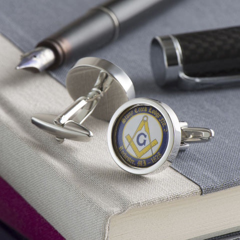 Personalised Masonic Cufflinks