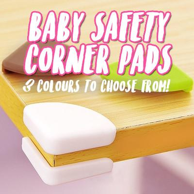 Baby Safety Corner Pads (Pack of 4)