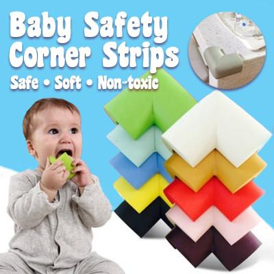 Baby Safety Corner Strips (Pack of 4)