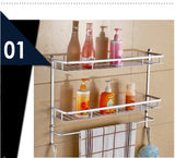 Double Tier Bathroom Rack