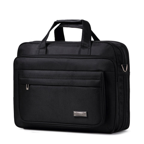 Classic Business Laptop Briefcase (Hand Carry or Sling)