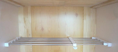 Extendable Rack - Stainless Steel