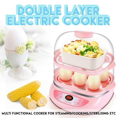 Double Layer Electric Cooker