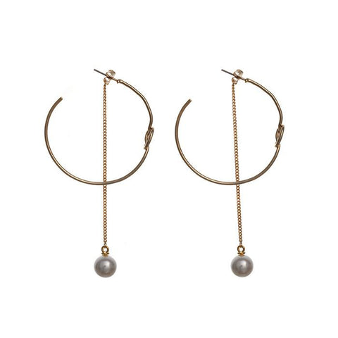 About The Look Earrings (Gold)