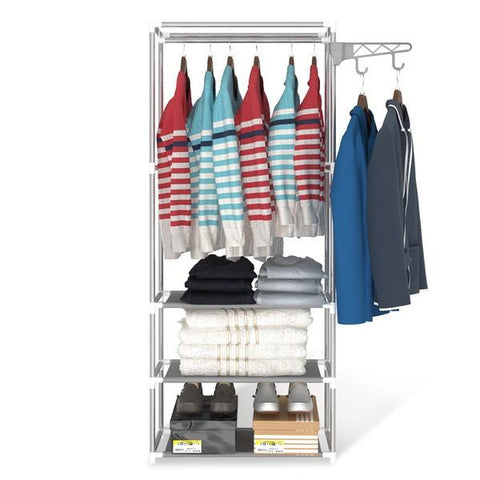 Convenient Open Air Clothing Rack