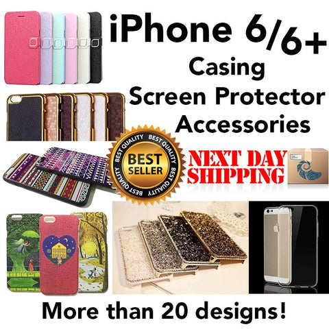 iPhone 6 Cases - with Free Slim Screen Protector