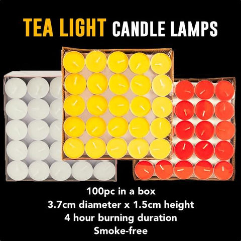 Tea Light Candle Lamps