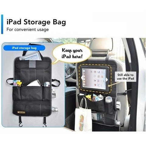 iPad Car Seat Storage Bag