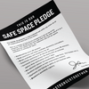 Safe Spaces Pledge Sheet