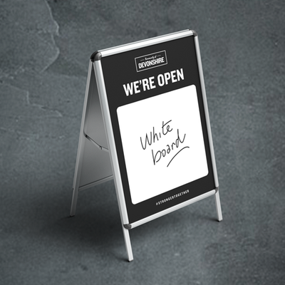 Dry Erase Sandwich Boards w/ Hardware