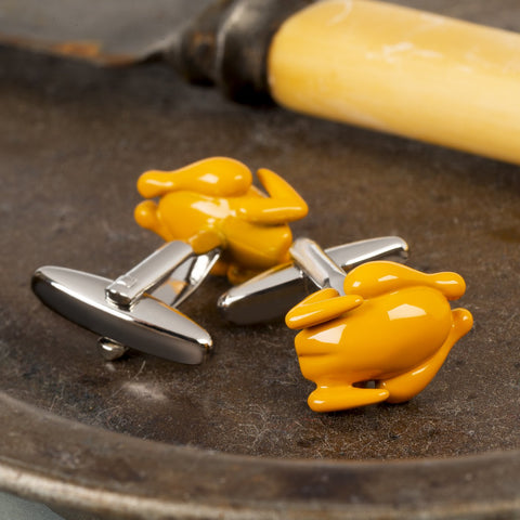 Roast Chicken Cufflinks