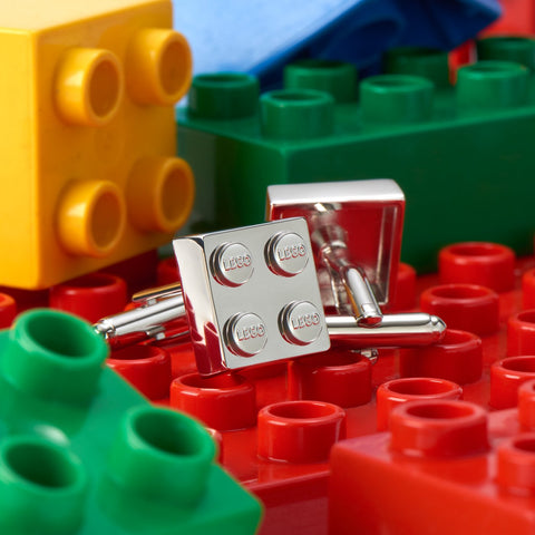 Square Lego Brick Cufflinks