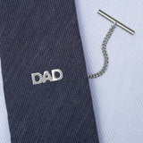 Sterling Silver Dad Tie Tack