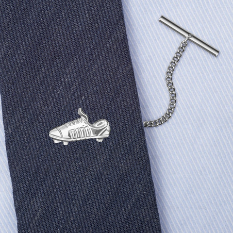 Sterling Silver Football Boot Tie Tack