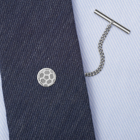 Sterling Silver Football Tie Tack