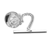 Sterling Silver Horse Shoe Tie Tack