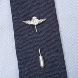 Sterling Silver RAF Wings Tie Tack