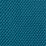 Turquoise Knitted Square Cut Silk Tie