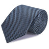 Grey & Black Dogtooth Silk Tie