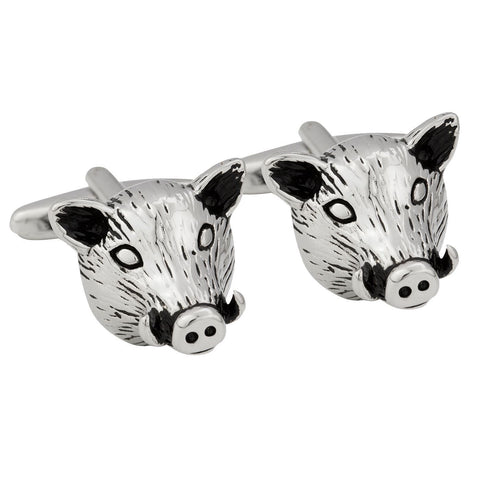 Boar Head Cufflinks