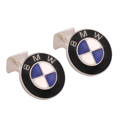 Sterling Silver BMW Cufflinks