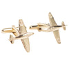 9ct Gold Spitfire Cufflinks