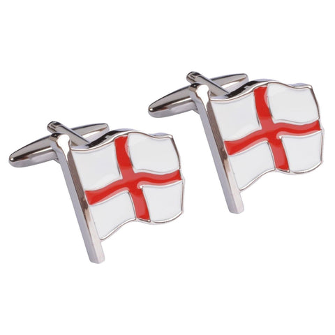 St Georges Flag  Cufflinks