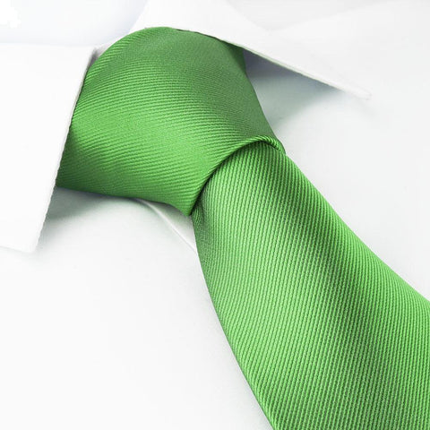 Emerald Green Silk Tie